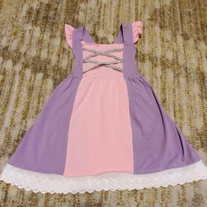 Super adorable Rapunzel inspired dress